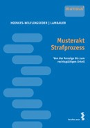 Cover Musterakt Strafprozess