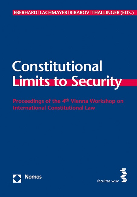 Cover Constitutional Limits to Security