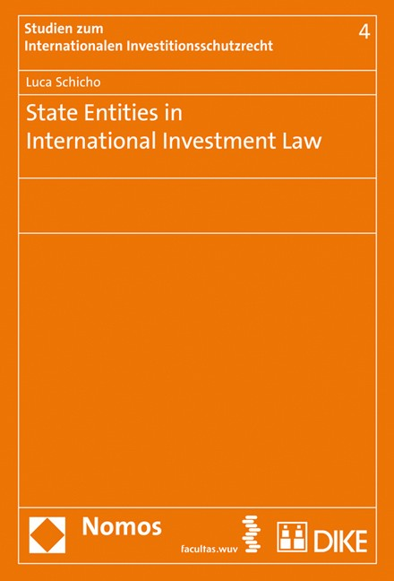 Cover State Entities in International Investment Law
