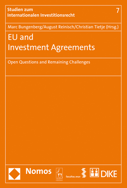 Cover EU and Investment Agreements