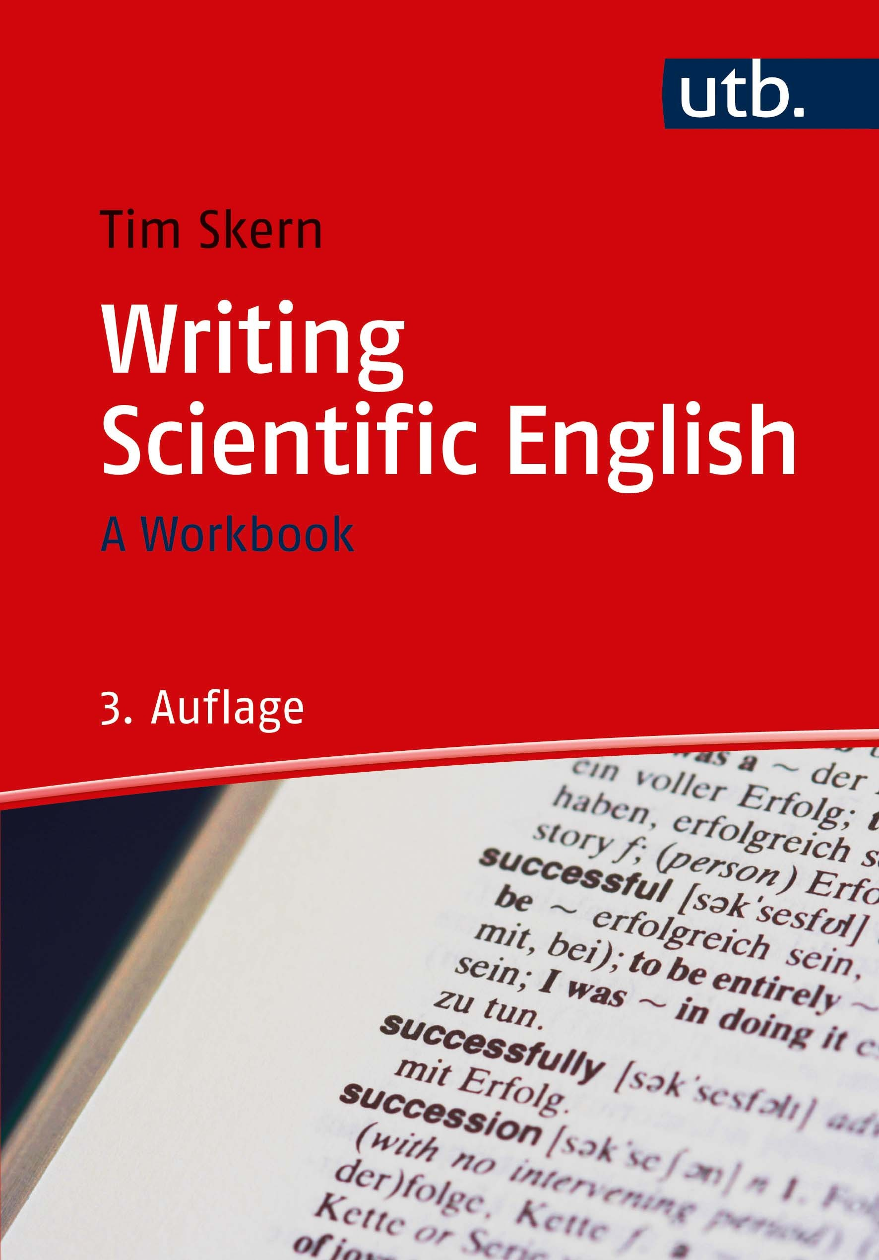 Cover Writing Scientific English